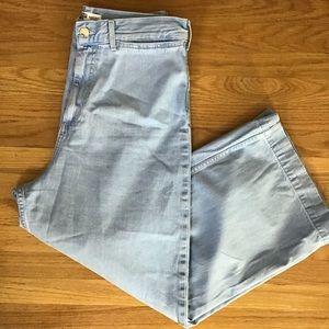 Zara High Waisted wide leg jeans  10